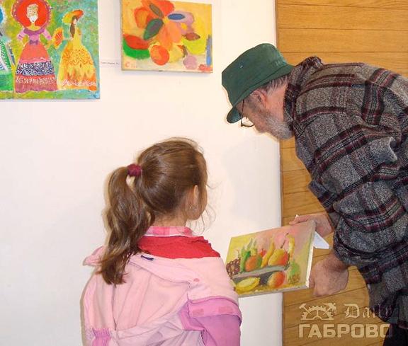 """Детски картини в галерия """"Орловска 10"""""""