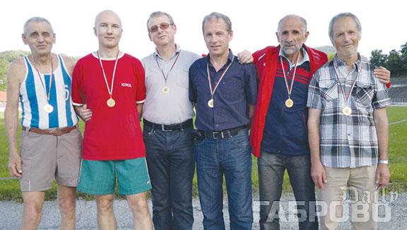 Медали за ветераните от Габрово