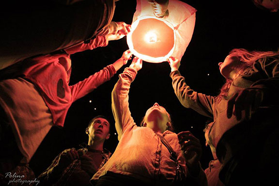 Фестивал на хартиените фенери в Габрово