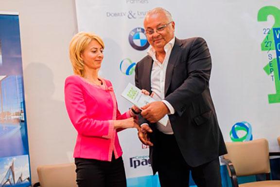 Награда за устойчиво развитие за кмета на Община Габрово