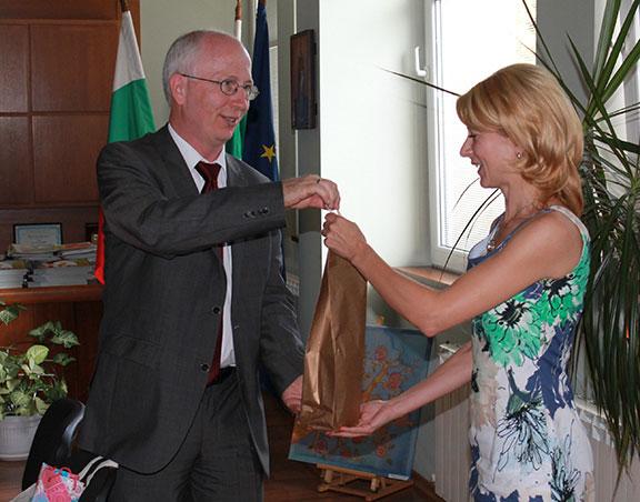Д-р Петер Колб, временно управляващ Посолството на Федерална република Германия