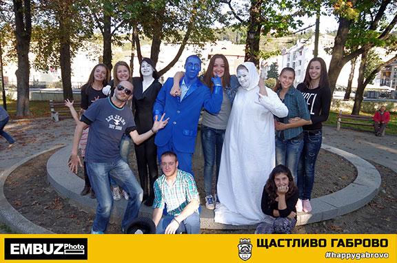"Участници в снимките на клипа ""Щастливо Габрово"""