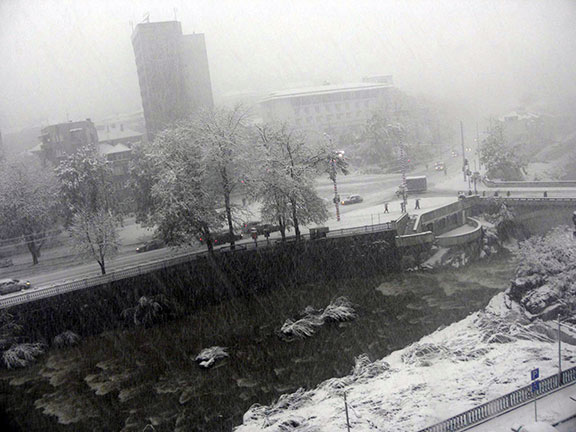 Бедствено положение в Габрово - 25 октомври 2014 г.