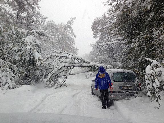 Бедствено положение в Габрово - 26 октомври 2014