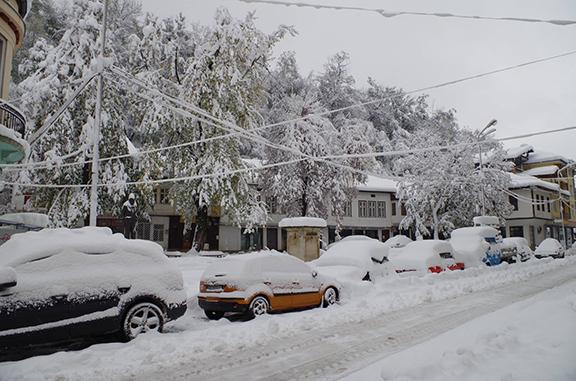 Бедствено положение в Габрово - 27 октомври 2014