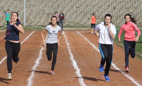 Ученически игри по лека атлетика - Габрово 2014