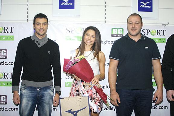Коронясаха Гала Чалъкова за Мис BGAthletic.com