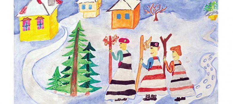 Снежно Габрово за деца, автор Момчил Цонев