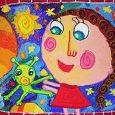 Награда за Вяра Пенчева от конкурс за детска рисунка на Space Foundation