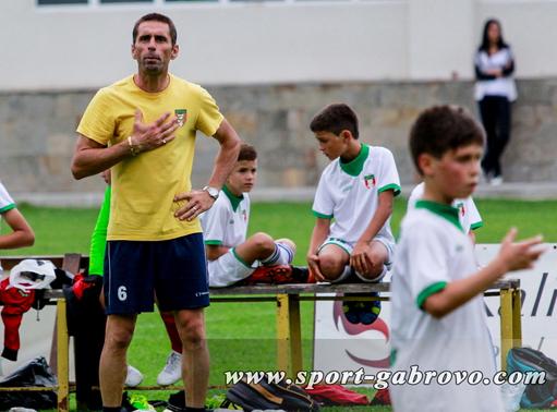 Футболният треньор Емил Георгиев