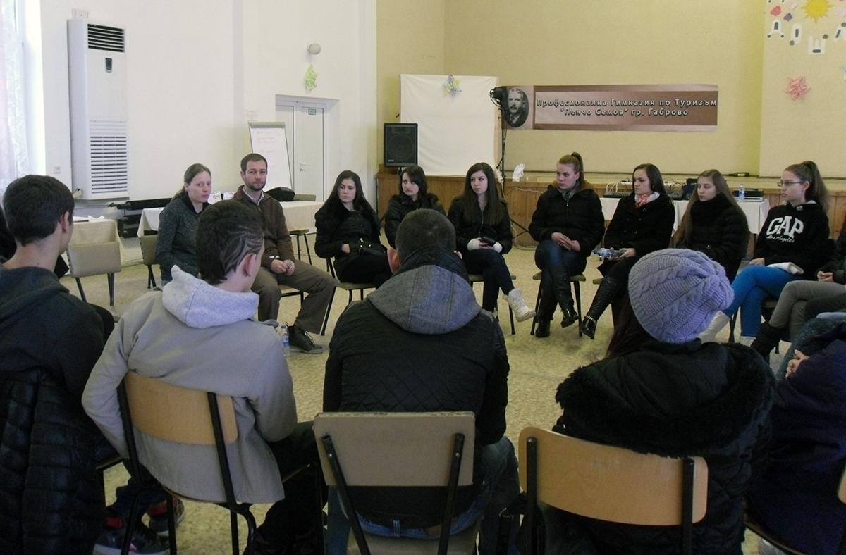 """Първи креативен лагер за ученически компании в ПГТ """"Пенчо Семов"""""""