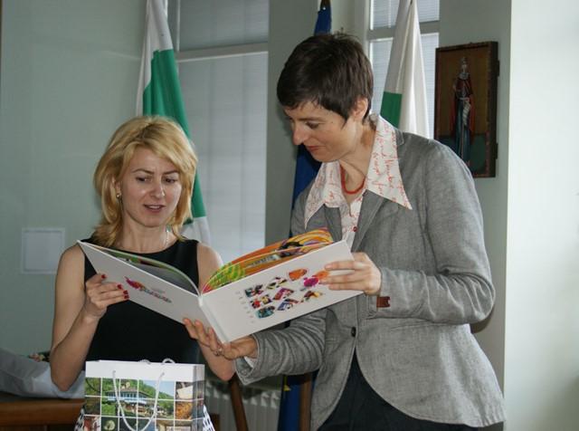 Новият търговски съветник на австрийското посолство на посещение в Габрово
