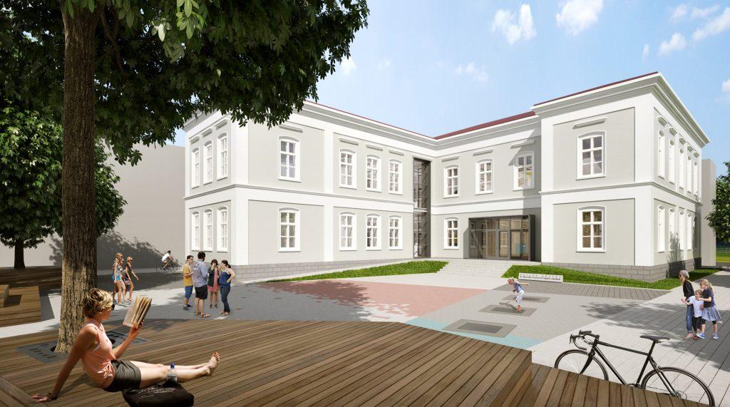 Център за детско творчество в сградата на Радион Умниковото училище