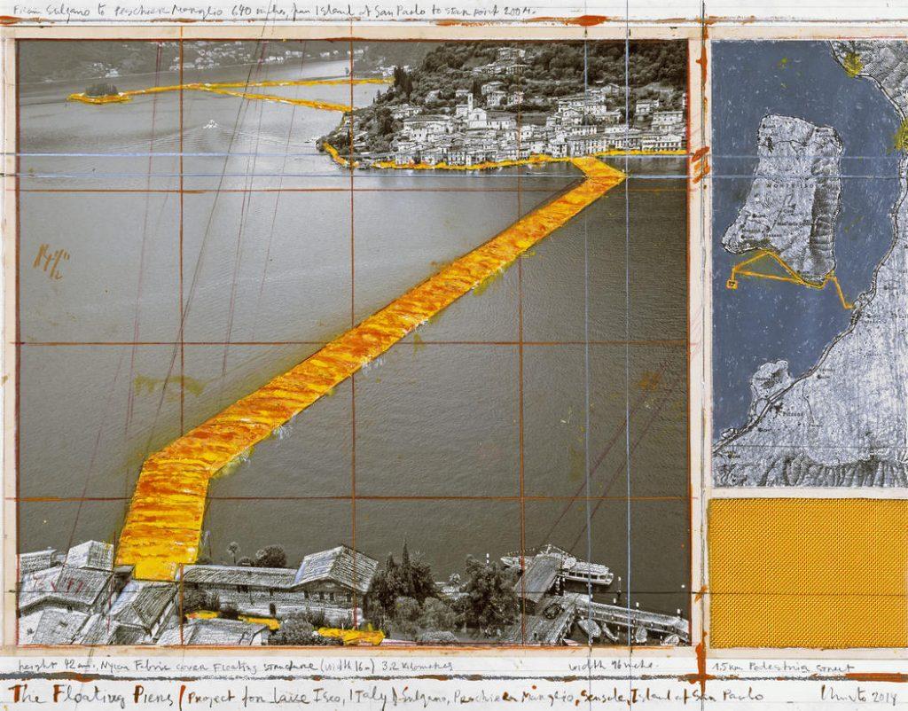"""""""Плаващите кейове"""". Изображение: christojeanneclaude.net"""