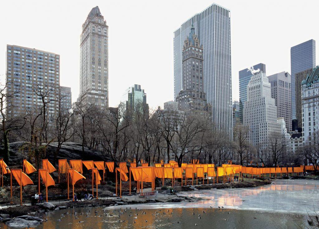 """""""Портите"""" в Ню Йорк. Изображение: christojeanneclaude.net"""