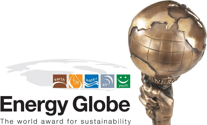 """Награда """"Energy Globe Award"""" (""""Енерджи Глоуб"""")"""