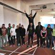 "Спортистите от АК ""Орловец - 93"" на новата писта в спортен комплекс ""Христо Ботев"" - Габрово © АК ""Орловец - 93"""