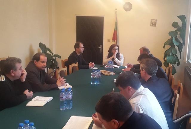 Министърът на МВР Румяна Бъчварова на посещение в Габрово © МВР