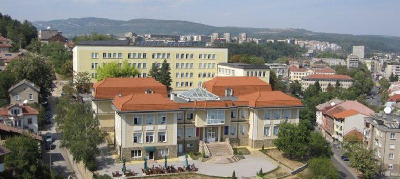 Корпус 3 и Библиотека на Технически университет Габрово. Снимка: Радиоклуб ТУ-Габрово