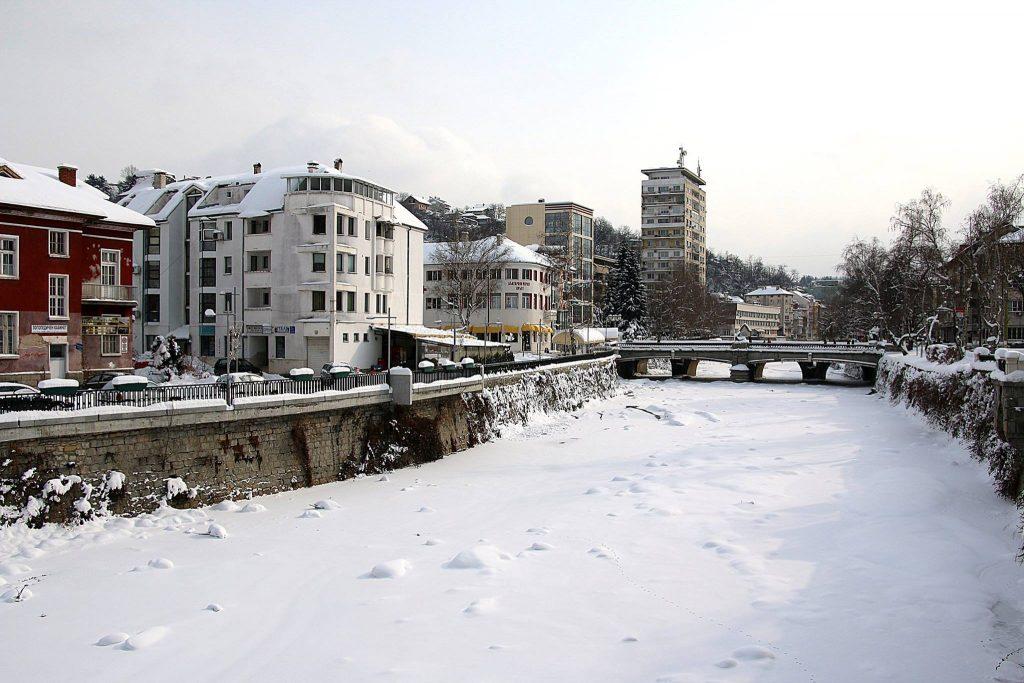 Река Янтра замръзна, 9 януари 2017 © Стоян Братованов