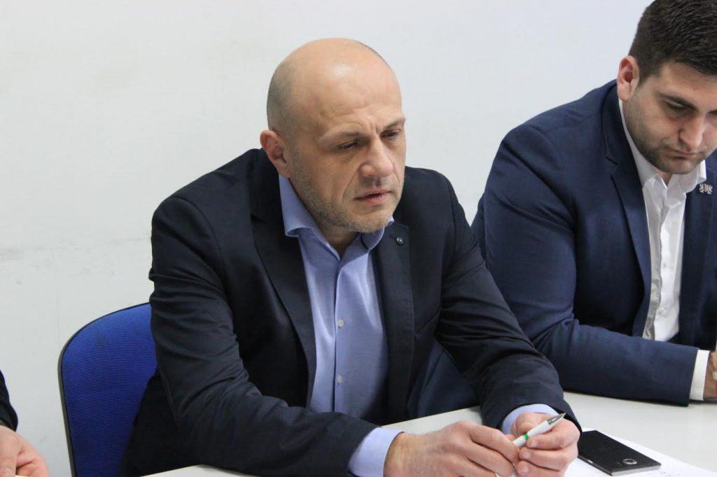 Томислав Дончев и Андрей Новаков в Габрово © Пресцентър на ГЕРБ Габрово