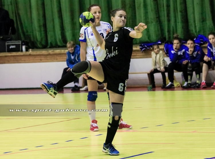 "Лидия Ковачева от ХК ""Бъки"" © sport-gabrovo.com"