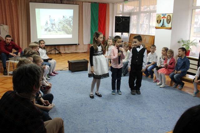 """Концерт-спектакъл """"За моята България"""" на децата от ДГ """"Мики Маус"""""""