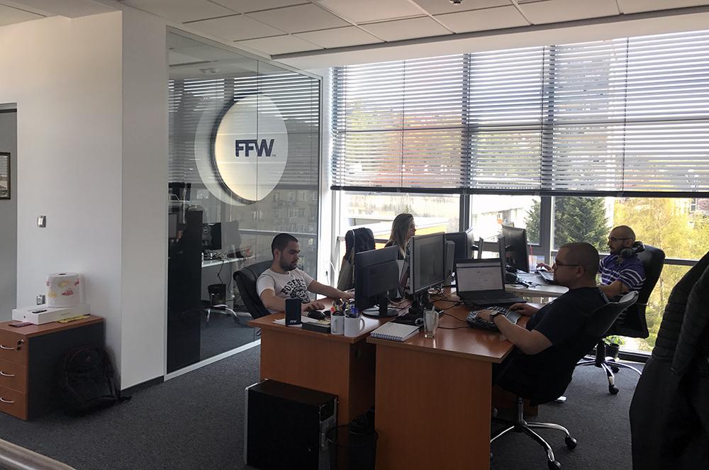 В офиса на FFW Габрово