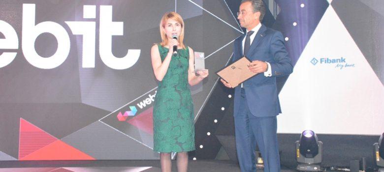 Община Габрово с награда от фестивала Webit