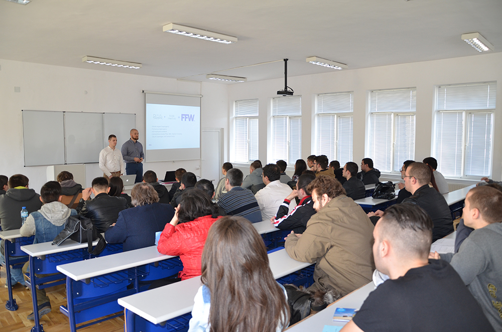 Среща на екипа на FFW Габрово със студенти от Технически университет Габрово