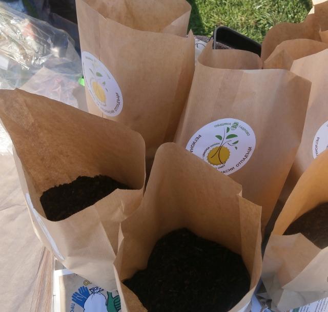Биоотпадъци срещу компост © Община Габрово