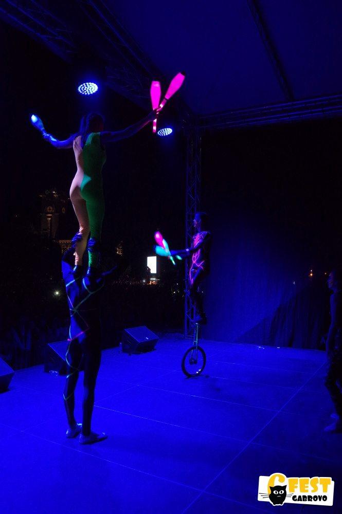 """6Fest: Светлинно представление на """"Цирк де ла Люлин"""" © 6Fest"""