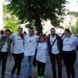 Доброволците на 6Fest и Момчил Цонев при откриването на фестивала, 19 май 2017 © 6Fest