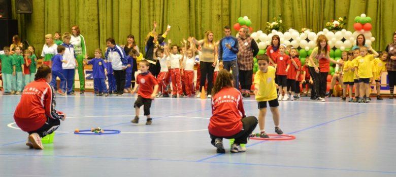 Спортни игри на детските градини в Габрово © Община Габрово