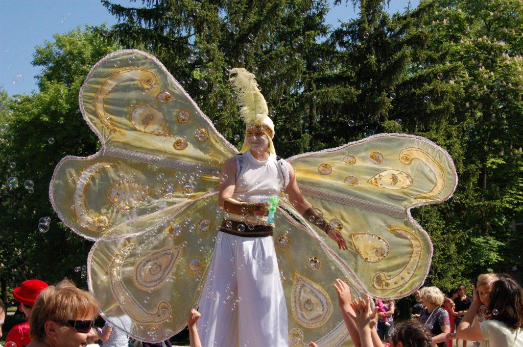 "Мим формация ""Жар театър"" - Уличен карнавален пърформанс ""БулевАРТ Карнавал"""