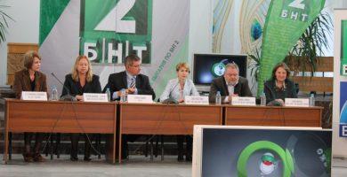 """Дискусия в Габрово в рамките на инициативата """"Вкусът на България"""" (кампания """"Купувам българско"""" на БНТ2)"""