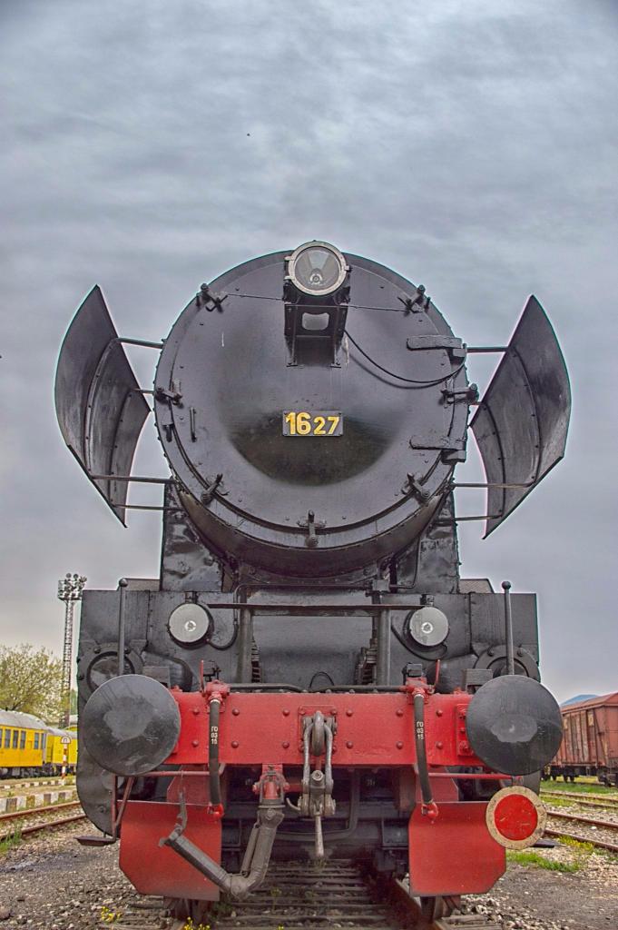 Парен локомотив на БДЖ © Иван Вълков