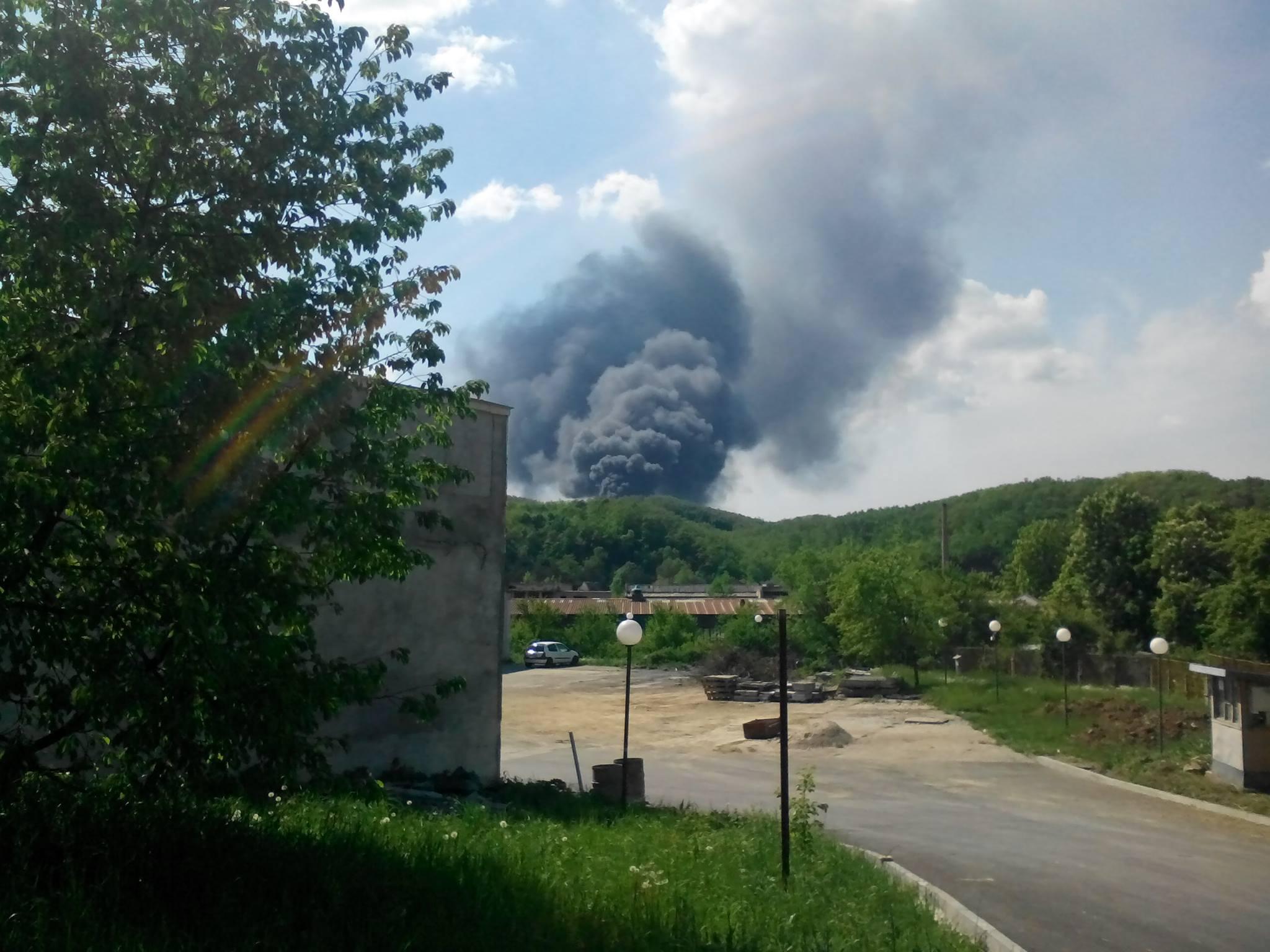 Пожар в Габрово на 4 май 2017 © Радослав Първанов