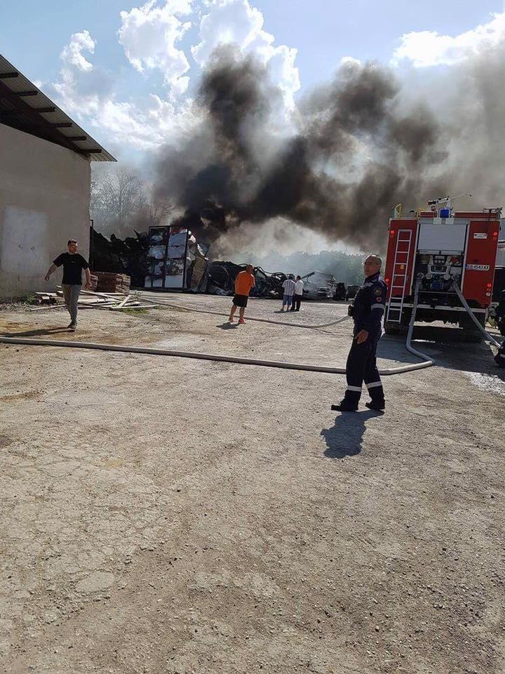 Пожар в Габрово на 4 май 2017 © Областна администрация Габрово