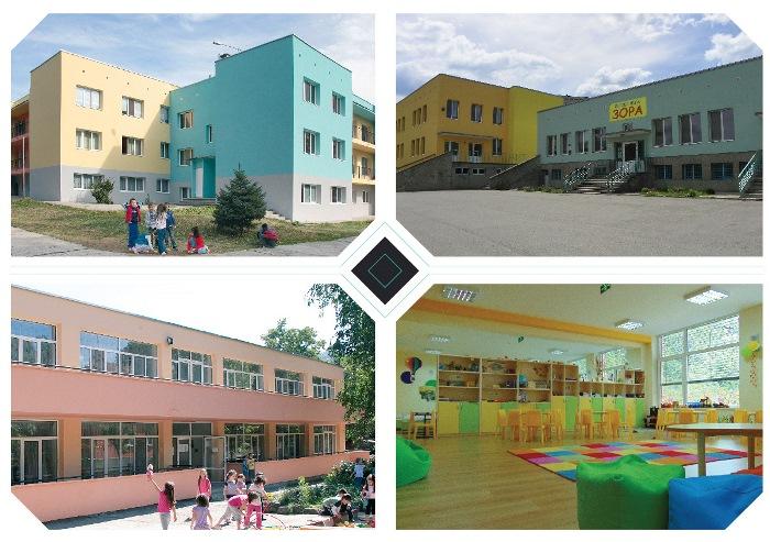 Проект за обща система за енергийно ефективно управление на 8 детски градини © Община Габрово