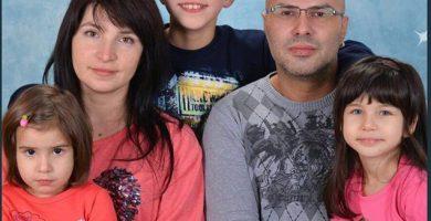 Мариянна Цакова и нейното семейство. Снимка: Личен архив