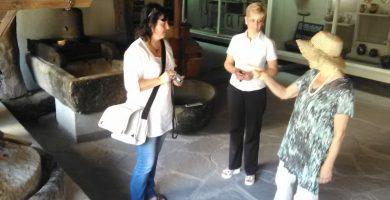 Експозиция за шарлан в Регионален исторически музей Хасково