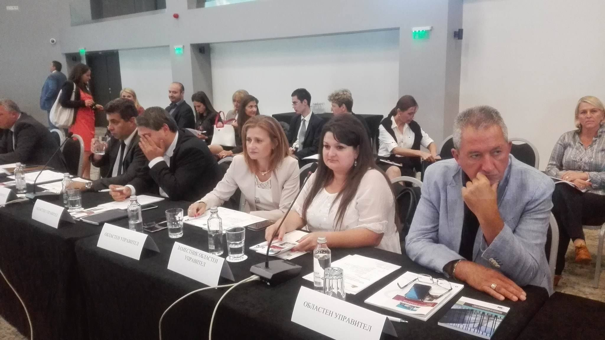 Обучение на представители на областните администрации в България