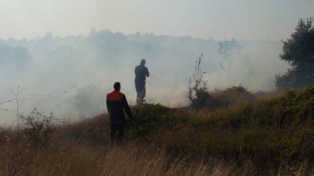 Пожар край с. Кози рог на 11 септември 2017 © РСПБЗН - Габрово