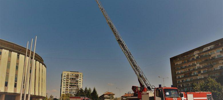 Изложение и демонстрация на противопожарна и спасителна техника