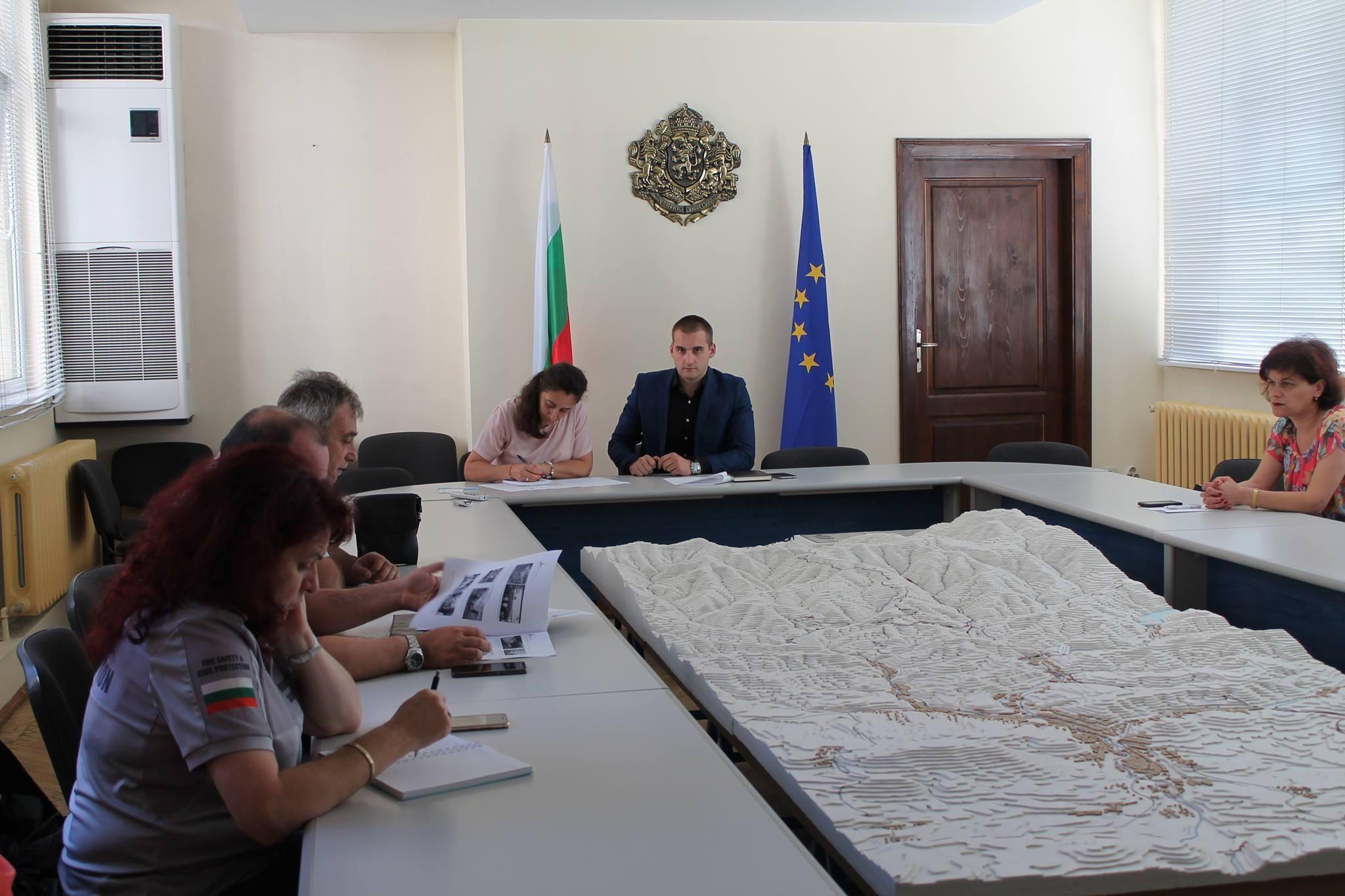 Заседание на Областната епизоотична комисия © Областна администрация Габрово