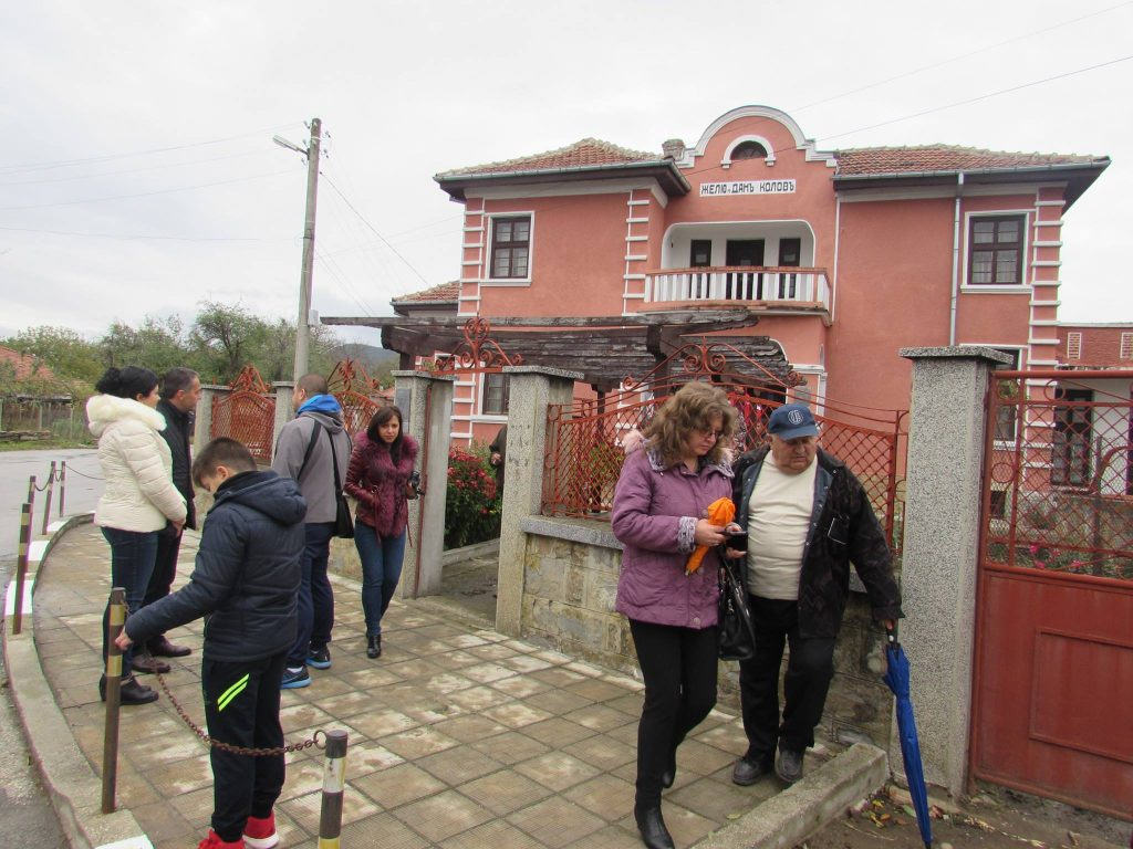 Дом-музей на Дан Колов в Сенник, честване на 125 години от рождението му, Сенник, 28 октомври 2017 © Община Севлиево