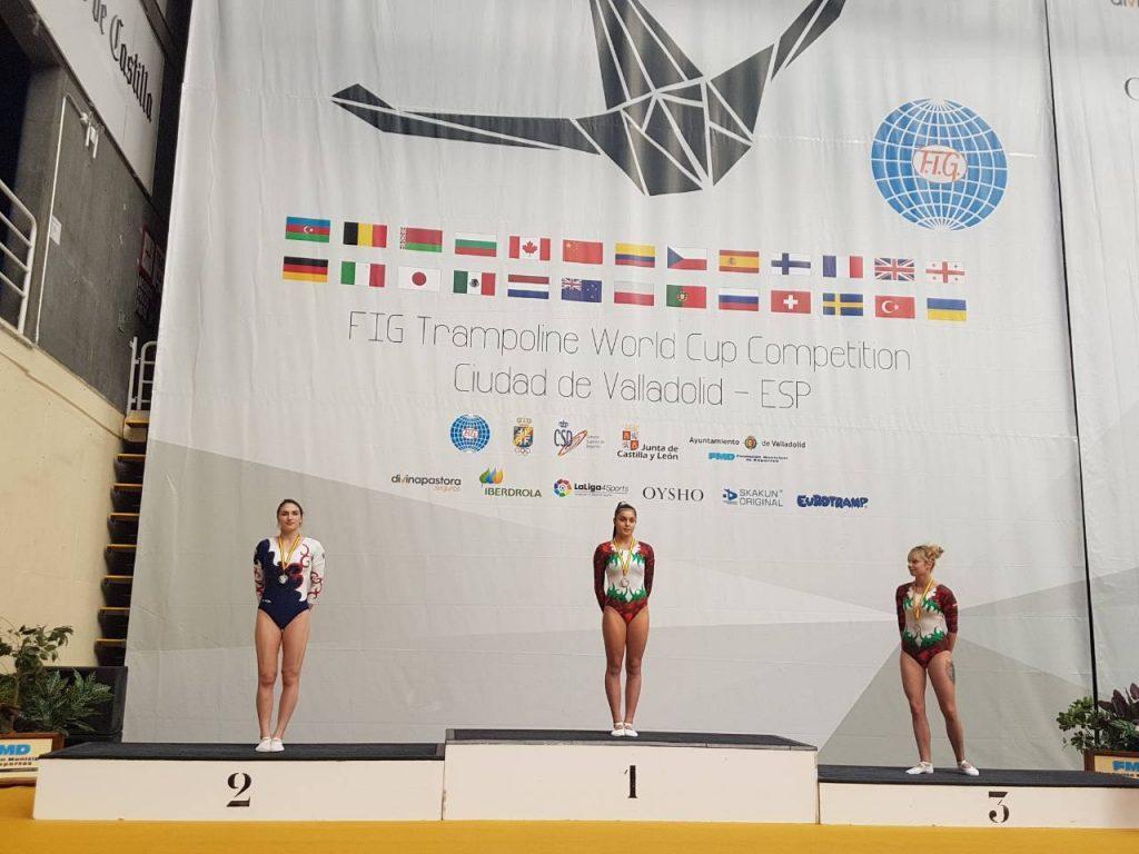 Сестрите Христина и Мариела Пенева с медали от турнир в Испания