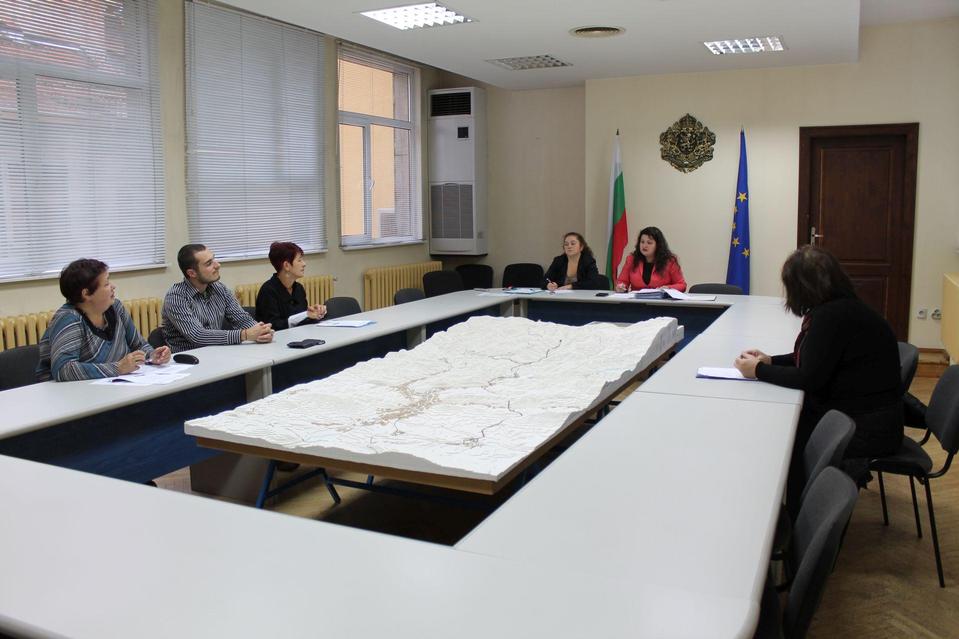 Заседание на членовете на Областния съвет по условия на труд в Габрово