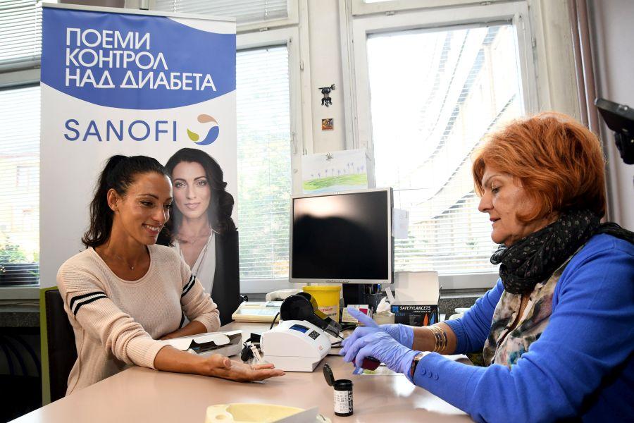 """Посланик на кампанията """"Открито за диабета"""" е Ивет Лалова - Колио"""